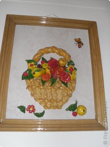 Корзиночка с розами))) фото 3