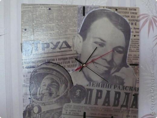 Часы ко Дню космонавтики фото 2
