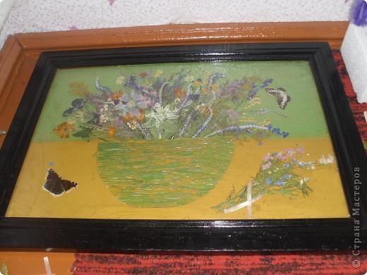 Моя работа из природного материала, применение гербария))) фото 5