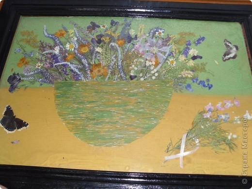 Моя работа из природного материала, применение гербария))) фото 1