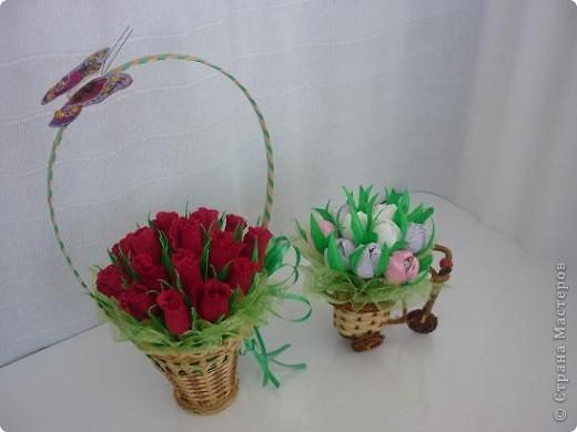 Маленькие букетики к майским праздникам фото 1