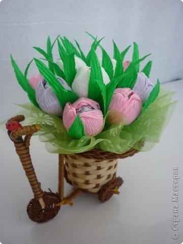 Маленькие букетики к майским праздникам фото 5