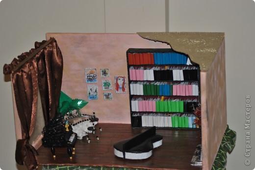 """Вот такую комнату делали с младшей дочкой для школьного проекта """"Комната моей мечты"""" фото 1"""