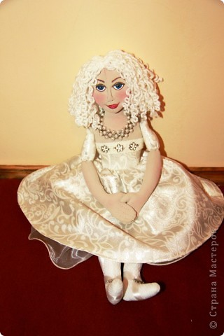 авторская текстильная кукла фото 4