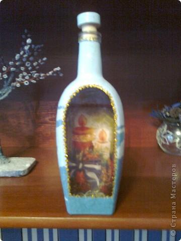 И еще немного новогодних бутылок. фото 4
