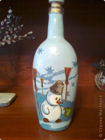 И еще немного новогодних бутылок. фото 5