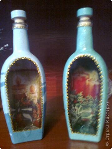 И еще немного новогодних бутылок. фото 7