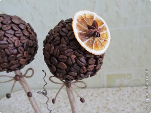 Вот решила сделать очередное кофейное дерево, которое отправится к мужу на работу. фото 4
