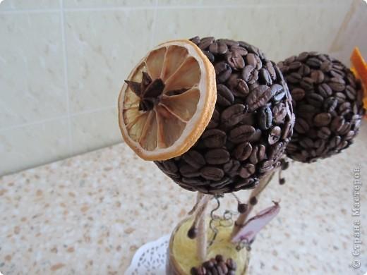 Вот решила сделать очередное кофейное дерево, которое отправится к мужу на работу. фото 5