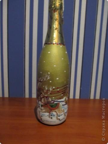 И еще немного новогодних бутылок. фото 3