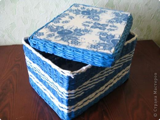Вот как-то так... Основа крышки и дна - картон. Для декора использовала салфетки.... фото 1
