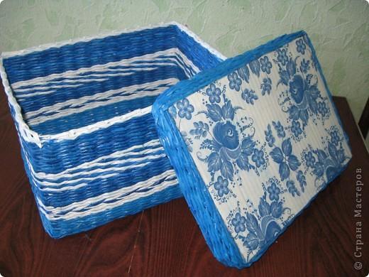 Вот как-то так... Основа крышки и дна - картон. Для декора использовала салфетки.... фото 4