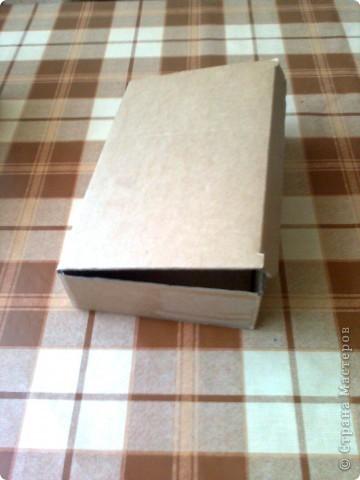 """Шкатулка - повторюшка.( У Тани Сорокиной - шкатулка в кёльтском стиле). Верх шкатулки украсила """"коваными"""" узорами. Эти узоры сделаны тоже из салфеточных нитей. фото 3"""