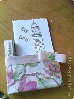 Вот, что у меня получилось:)  Вырезала основу из картона и обклеила её салфетками  фото 1