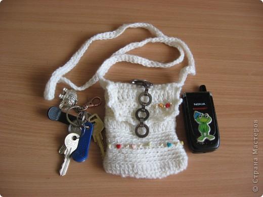 Для летних прогулок такая сумочка обязательно пригодится. Если нет карманов - телефон и ключи в эту сумочку и гуляй без проблем... фото 1