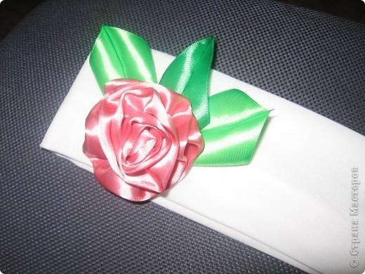 Цветы канзаши фото 5