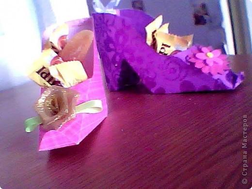 Туфельки - коробочки фото 1