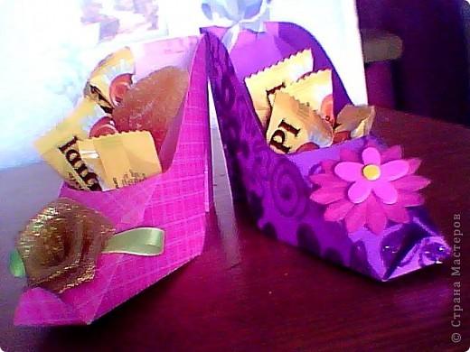 Туфельки - коробочки фото 2