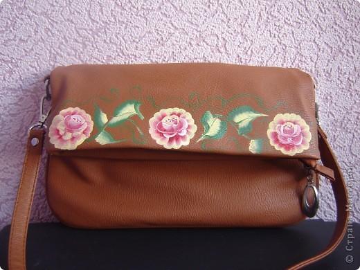 маленькая сумочка из кожзама фото 2