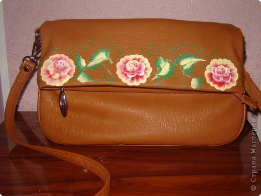 маленькая сумочка из кожзама фото 1