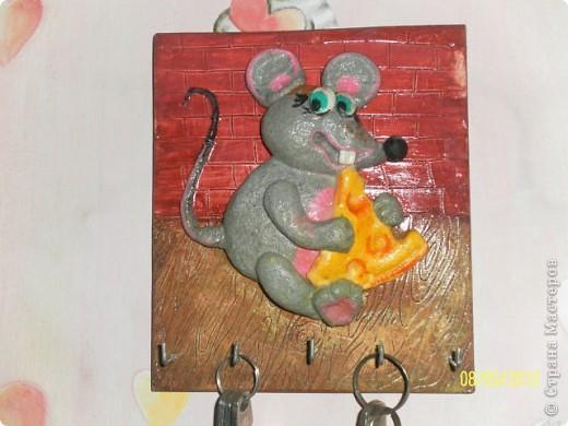 Очень уж мне понравилась мышка Ольги RODI и мы с дочами решили сделать и себе такую....