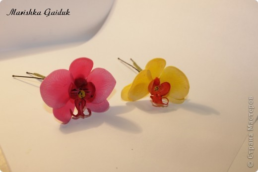 Шпильки-орхидеи фото 1