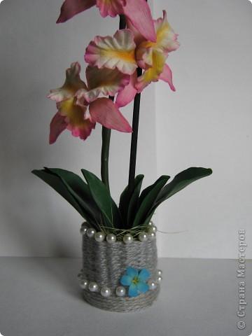 Орхидейка (ещё одна попытка слепить её) фото 3