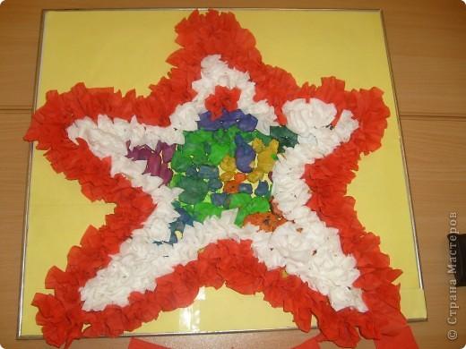 вот  такую  замечательную  Звезду мы  сделали  вместе  с  детьми  к  Дню  ПОБЕДЫ!!! фото 2