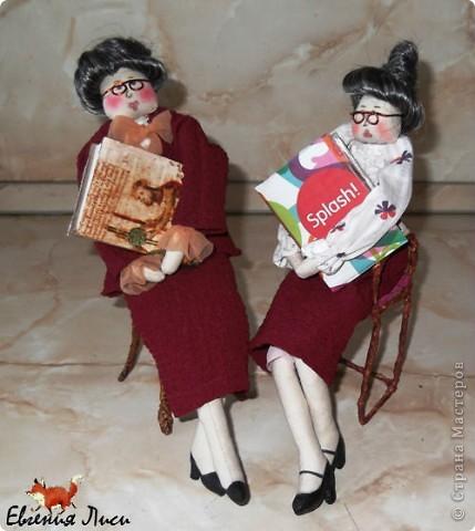 25 мая профессиональный праздник - день библиотекаря! Вот к этому дню и шились эти дамы. фото 1