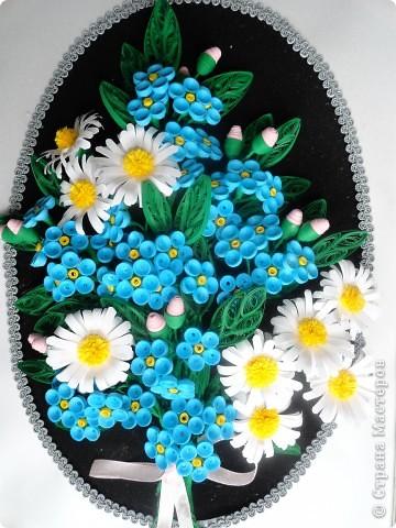 Медальон с незабудками! фото 1