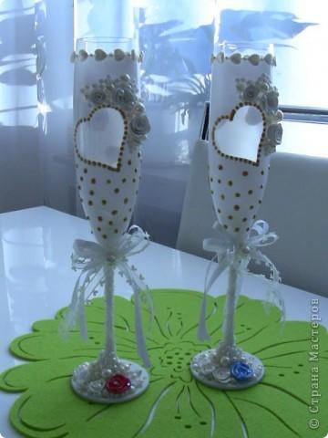 Фужеры свадебные фото 3