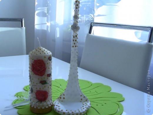 Свадебная свеча  фото 5