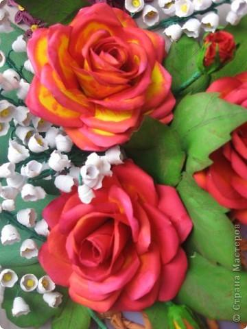 Здравствуйте жители СМ. Я собрала корзину ярких цветов. Наверно этому способствовала прекрасная погода. У на градусник показывает под 30 градусов. фото 5