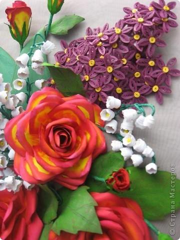 Здравствуйте жители СМ. Я собрала корзину ярких цветов. Наверно этому способствовала прекрасная погода. У на градусник показывает под 30 градусов. фото 7