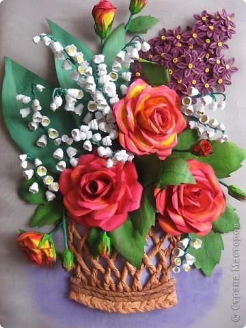 Здравствуйте жители СМ. Я собрала корзину ярких цветов. Наверно этому способствовала прекрасная погода. У на градусник показывает под 30 градусов. фото 11