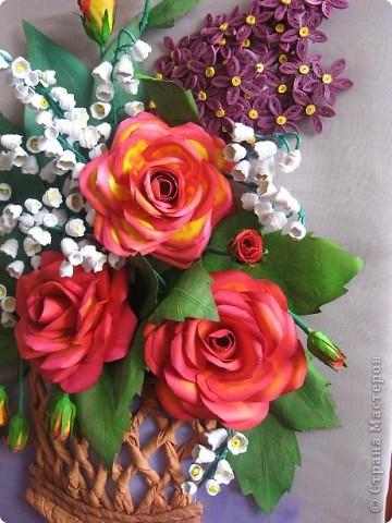 Здравствуйте жители СМ. Я собрала корзину ярких цветов. Наверно этому способствовала прекрасная погода. У на градусник показывает под 30 градусов. фото 2