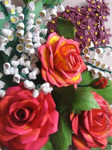 Здравствуйте жители СМ. Я собрала корзину ярких цветов. Наверно этому способствовала прекрасная погода. У на градусник показывает под 30 градусов. фото 4