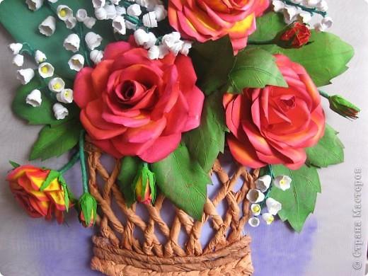 Здравствуйте жители СМ. Я собрала корзину ярких цветов. Наверно этому способствовала прекрасная погода. У на градусник показывает под 30 градусов. фото 6