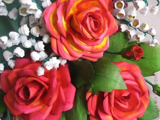 Здравствуйте жители СМ. Я собрала корзину ярких цветов. Наверно этому способствовала прекрасная погода. У на градусник показывает под 30 градусов. фото 3