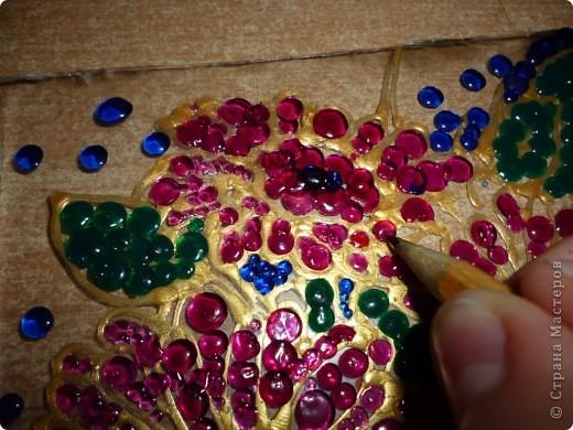 Здравствуйте, сейчас я вам покажу как сделать такую замечательную мозаику.  фото 7