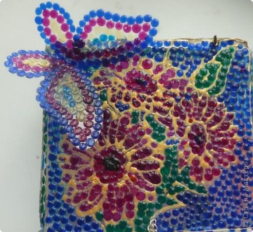 Здравствуйте, сейчас я вам покажу как сделать такую замечательную мозаику.  фото 1