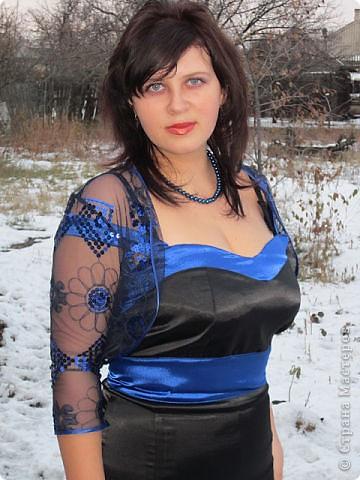 платье пошила для себя. фото 1