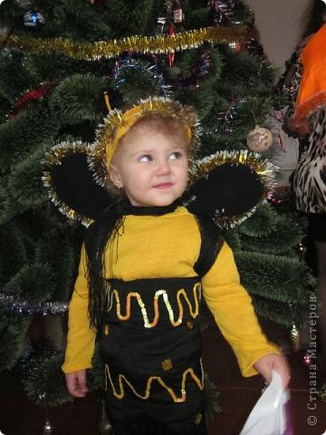 Новогодний костюм для дочки фото 1