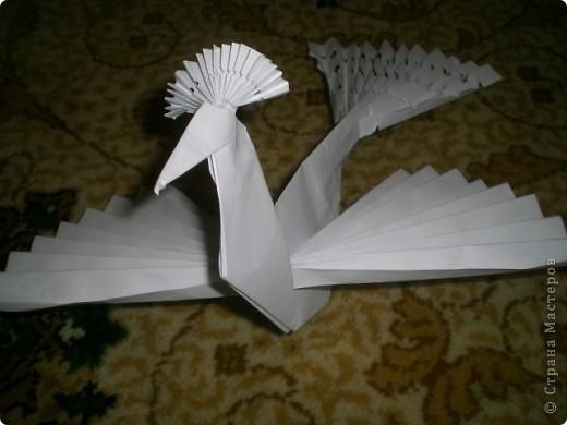 Сделать птицу счастья из бумаги своими руками 741