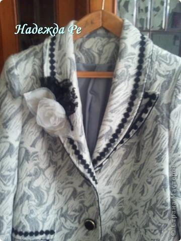 Купив в магазине пальто решила его преобразить фото 4