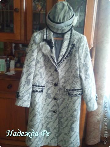 Купив в магазине пальто решила его преобразить фото 7