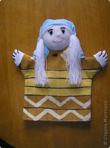 Куклы-перчатки фото 1