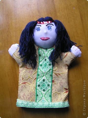 Куклы-перчатки фото 2