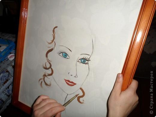 как нарисовать лицо девушки:
