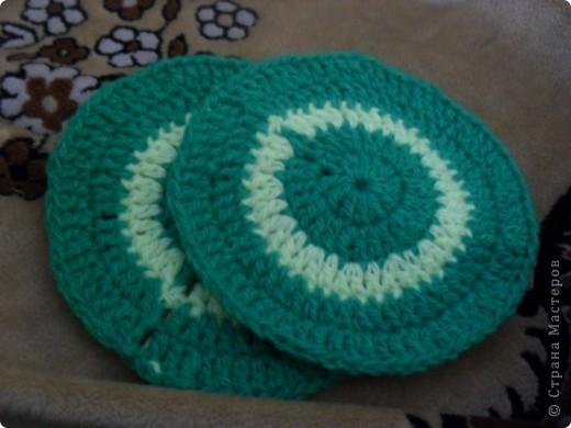 нитки синтетика лимонного и зеленого цвета фото 4